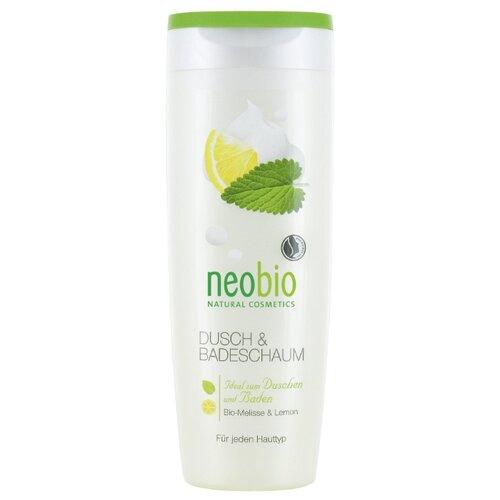 Гель для душа и пена для ванны Neobio Organic Melissa & Leman, 250 мл