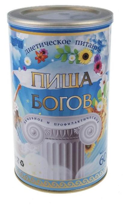 ВИТАПРОМ Соево-белковый коктейль Пища Богов, клубника, 600 г