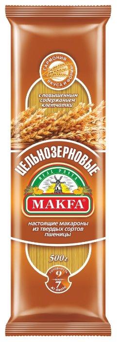 Макфа Макароны Спагетти цельнозерновые, 500 г