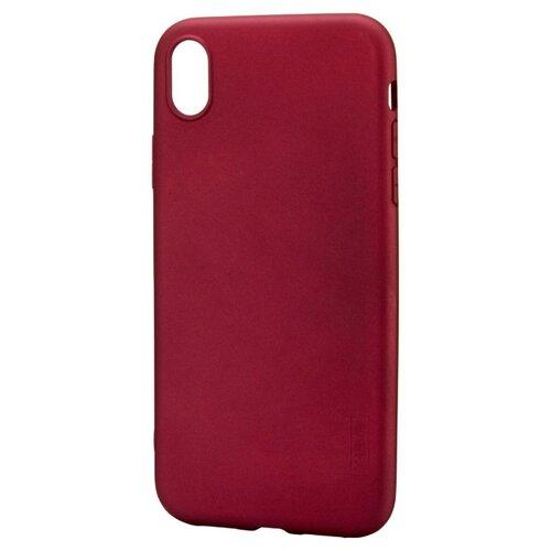 Купить Чехол X-LEVEL Guardian для Apple iPhone XR бордовый