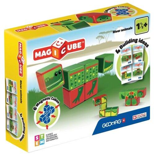 Купить Магнитный конструктор GEOMAG Magicube 133-6 Водоплавающие, Конструкторы