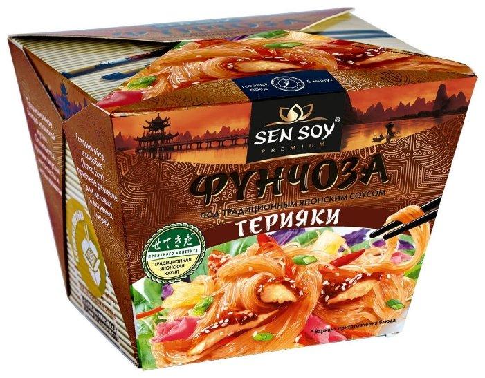 Sen Soy Вермишель «Фунчоза» под японским соусом Терияки 125 г