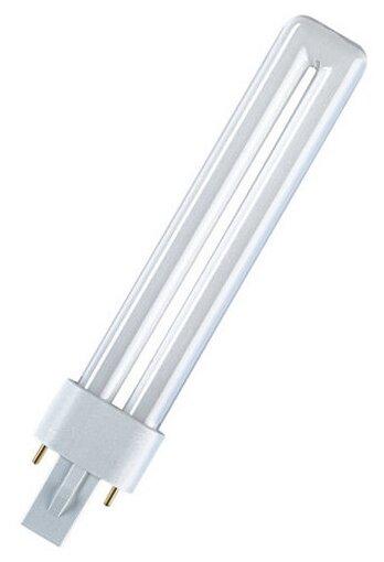 Лампа люминесцентная OSRAM Dulux S 840, G23, TC-S, 11Вт