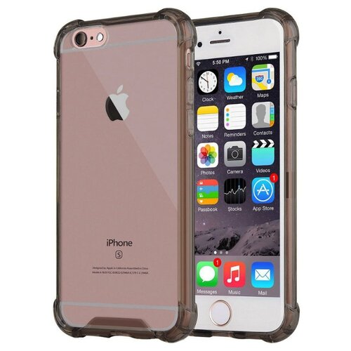 Фото - Чехол-накладка UVOO Antishock для Apple iPhone 6 Plus/iPhone 6S Plus черный чехол накладка bengamins bj6pfcup для apple iphone 6 plus iphone 6s plus cupcake soft foam