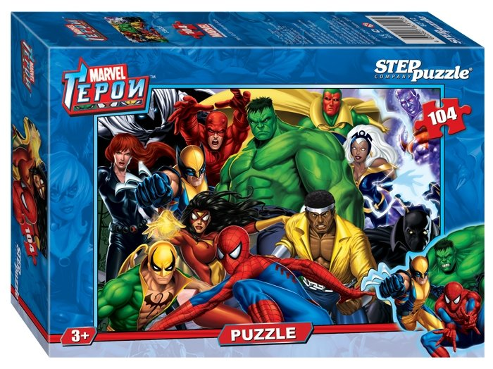 Пазл Step puzzle Marvel Герои (82112), 104 дет.