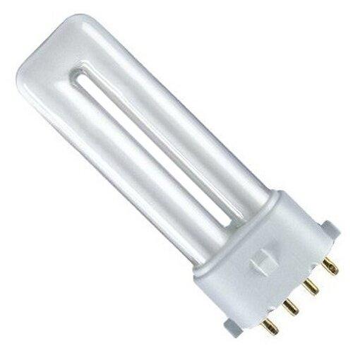 цена на Лампа люминесцентная OSRAM Dulux S/E 840, 2G7, T12, 11Вт