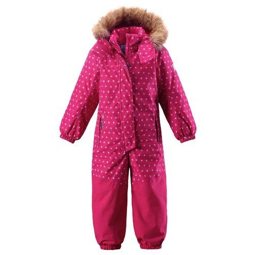Купить Комбинезон Reima Oulu 520208 размер 92, розовый в горошек, Теплые комбинезоны