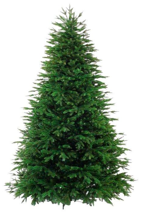 Новогодняя елка настольная, 25 см, с инеем, шары (красный) Snowmen Е96740
