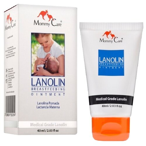 Mommy Care Крем для сосков Lanolin Breastfeeding Cream 40 мл.