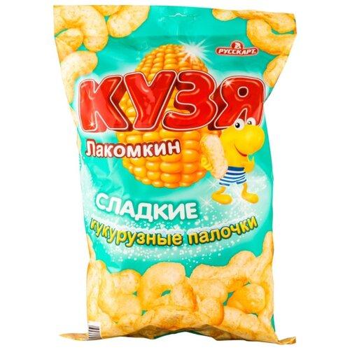 Кукурузные палочки Кузя Лакомкин сладкие 140 гСнэки, закуски<br>
