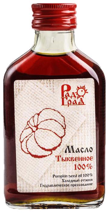 Масло тыквенное 100мл (Радоград)