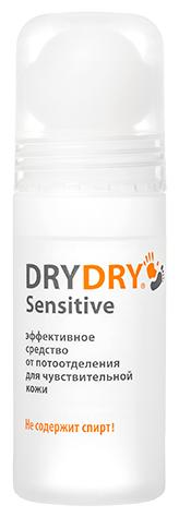Дезодорант Dry Dry Sensitive / Драй Драй Сенситив, 50 мл. – эффективное средство от потоотделения для чувствительной кожи