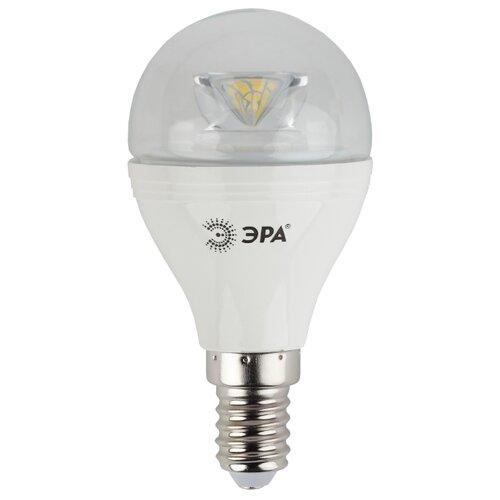 Лампа светодиодная ЭРА Б0017241, E14, P45, 7Вт лампа светодиодная эра б0017242 e14 p45 7вт
