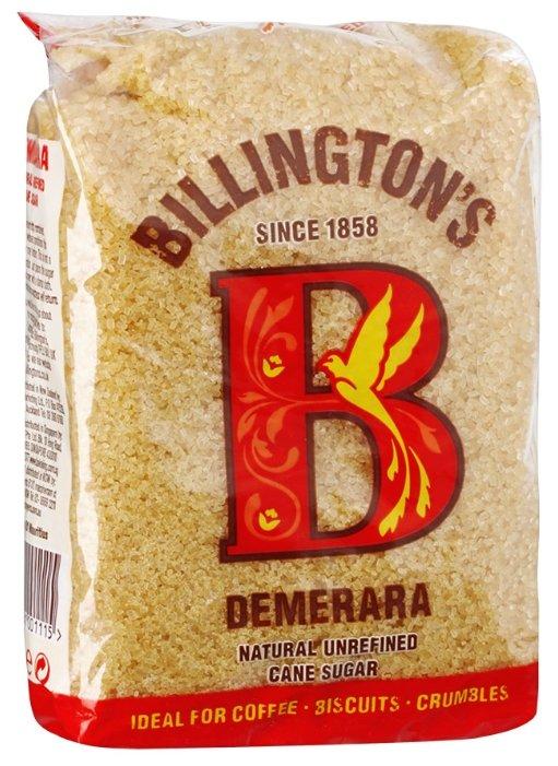 Сахар Billington's Demerara нерафинированный тростниковый, 500г.