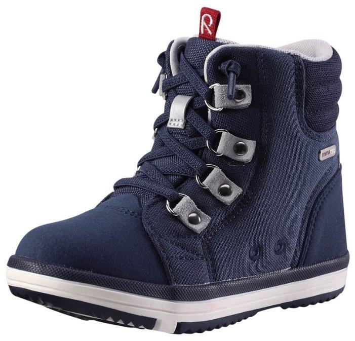 Ботинки на весну, с защитой от влаги, без шнурков Reimatec® Wetter 569284-9990 для мальчика, цвет черный (26)