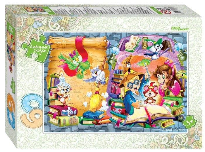 Пазл Step puzzle Любимые сказки Весёлые волшебники (81028), 60 дет.