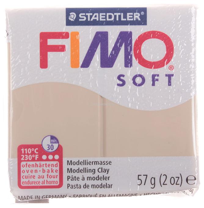 Полимерная глина FIMO Soft запекаемая Сахара (8020-70), 57 г