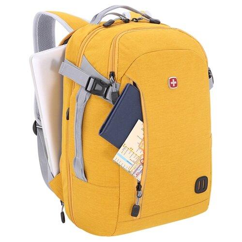Рюкзак WENGER 3555247416 желтыйСумки и рюкзаки<br>