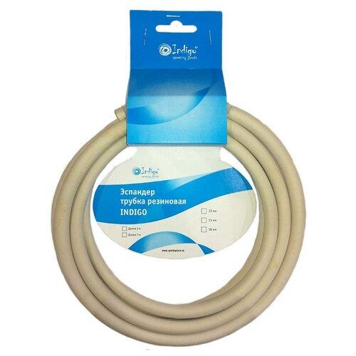 Эспандер универсальный Indigo трубка резиновая 3 м (диаметр 15 мм) серыйЭспандеры и кистевые тренажеры<br>