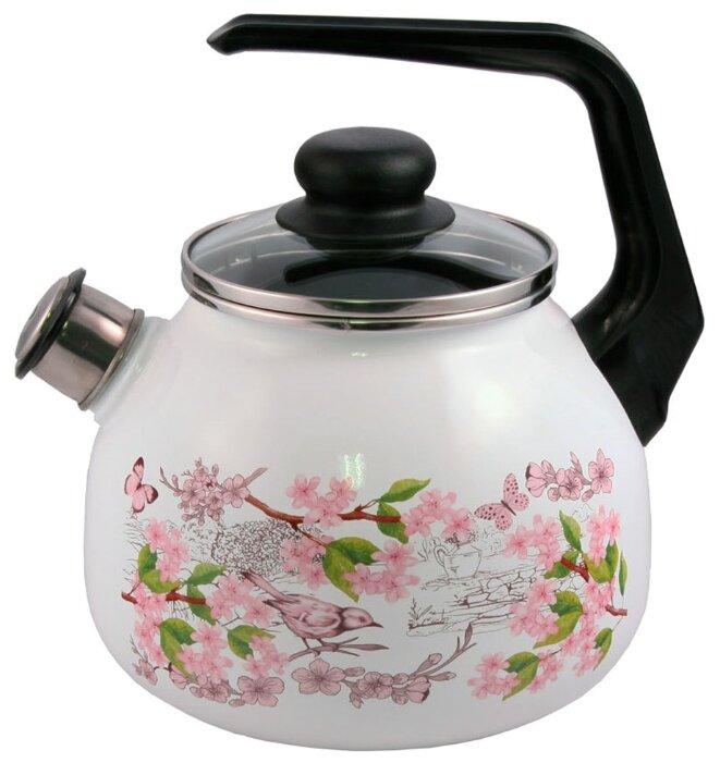 Чайник для плиты APPETITE 4с209я Floral kitchen 3л.