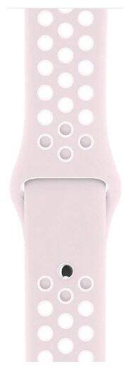 Karmaso Ремешок для Apple Watch 42 мм розовый с белым