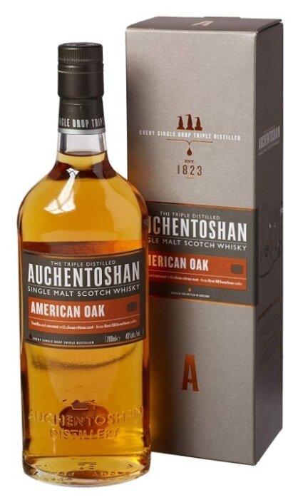 Виски Auchentoshan American Oak, 0.7 л, подарочная упаковка