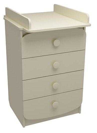 Пеленальный комод ФА-мебель Улыбка мини