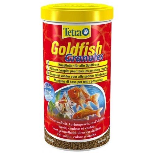 Сухой корм для рыб Tetra Goldfish Granules 1000 мл сухой корм для рыб tetra goldfish 10000 мл