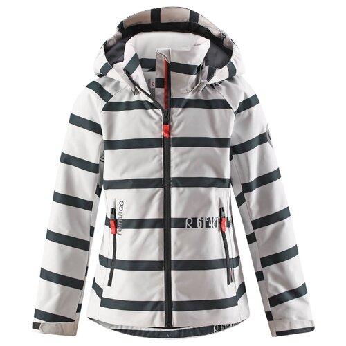 Купить Куртка Reima Fresia 531322R размер 116, белый/черный, Куртки и пуховики