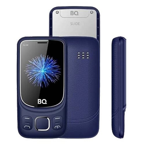 Телефон BQ 2435 Slide синий