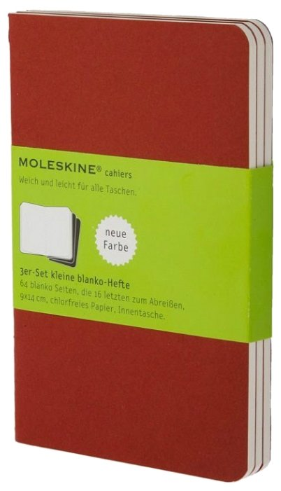 Блокнот Moleskine Cahier Journal Pocket 90x140, 32 листа 394887(CH113)
