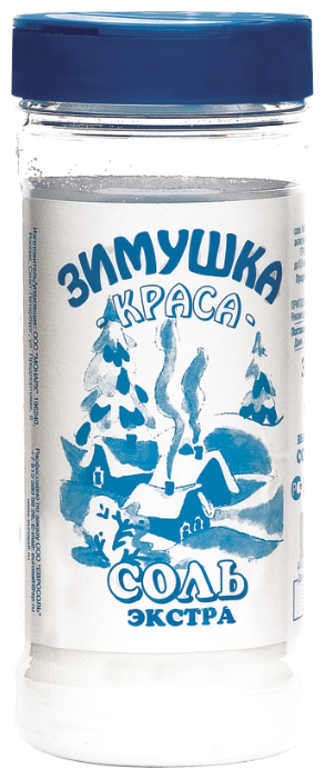 Зимушка-краса Соль экстра, пластиковая банка, 500 г