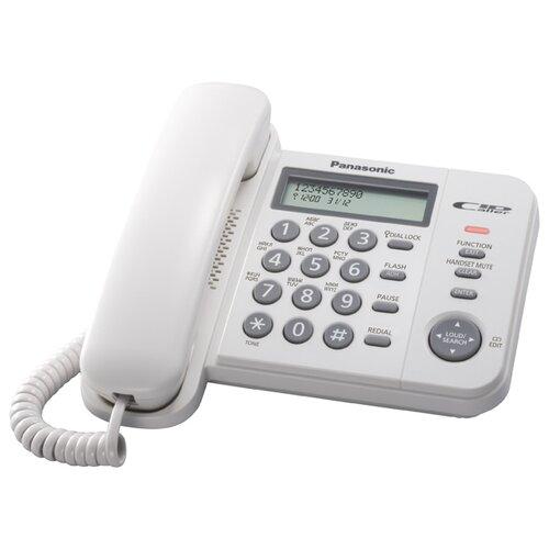 Телефон Panasonic KX-TS2356 белый  - купить со скидкой