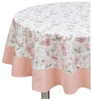 Скатерть Fresca Design English rose с оборкой (sks04.2) 185 см