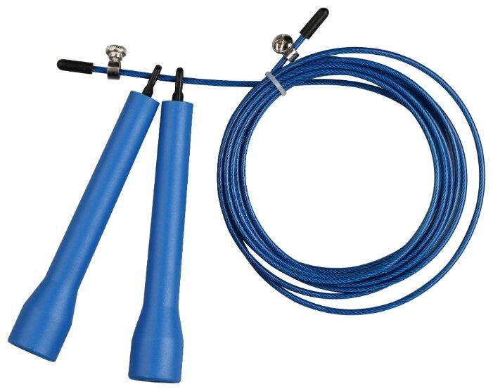 Скоростная скакалка с подшипником Indigo 97161 IR синий 270 см