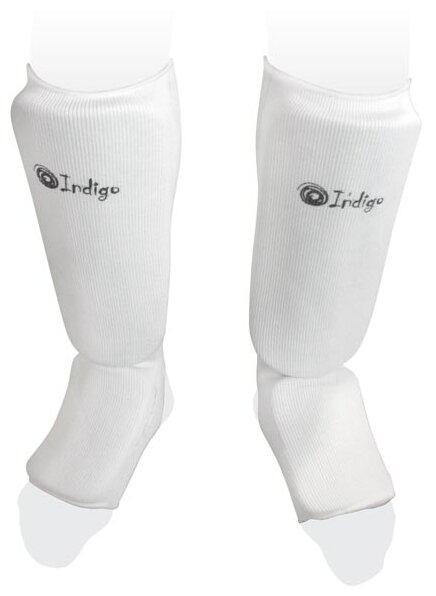 Защита голени Indigo, PS-1316, белый, размер L