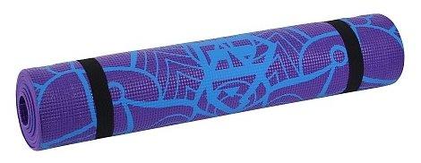Коврик (ДхШхТ) 180х61х0.5 см Larsen AS4 PVC с принтом violet