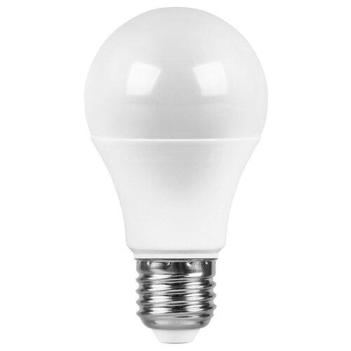 Лампа светодиодная Saffit SBA6525 55088, E27, A65, 25Вт лампочка saffit e27 a65 25w 4000k 230v sba6525 55088