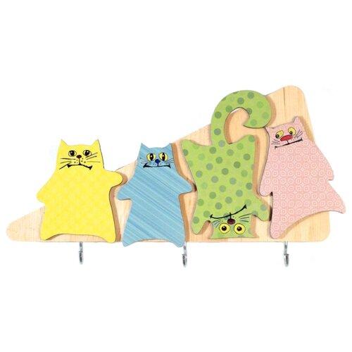 Фото - Ключница elf Разноцветные коты, 25.5х14 см разноцветный ключница art east фсин 29 33 см