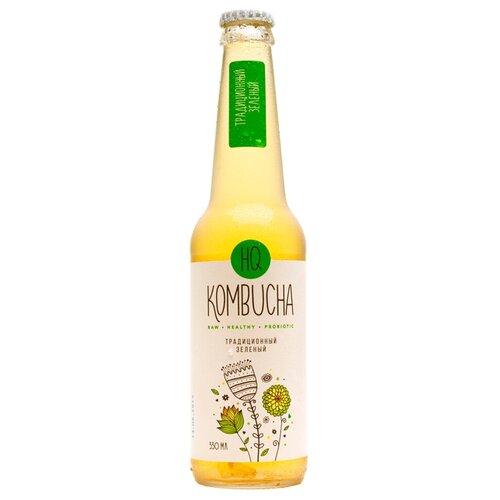 Комбуча HQ Kombucha Традиционный зеленый, 0.33 лЛимонады и газированные напитки<br>