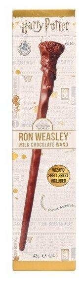 Фигурный шоколад Jelly Belly Harry Potter Волшебная палочка Рона, 42 г