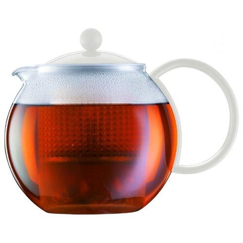 Bodum Заварочный чайник Assam 1 л белый