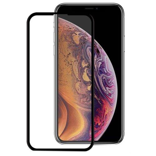 Защитное стекло Mobius 3D Full Cover Premium Tempered Glass для Apple iPhone XS Max черный защитное стекло liberty project tempered glass с рамкой для apple iphone xs max черный
