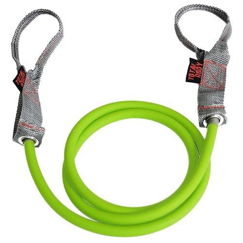 Эспандер универсальный Original FitTools трубчатый Total Body (FT-LTX-20LB) 130 см зеленый/серый