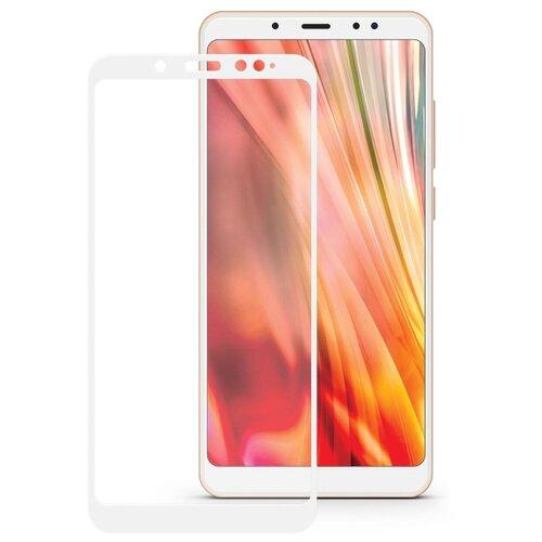 Защитное стекло Mobius 3D Full Cover Premium Tempered Glass для Xiaomi Redmi S2 белый защитное стекло xiaomi redmi s2 полная проклейка белая рамка белый