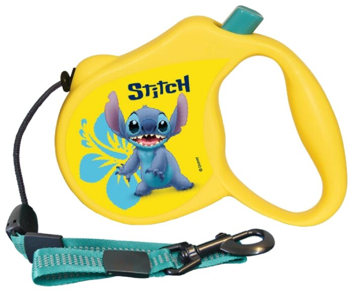 Поводок-рулетка для собак Triol Disney Stitch (S)
