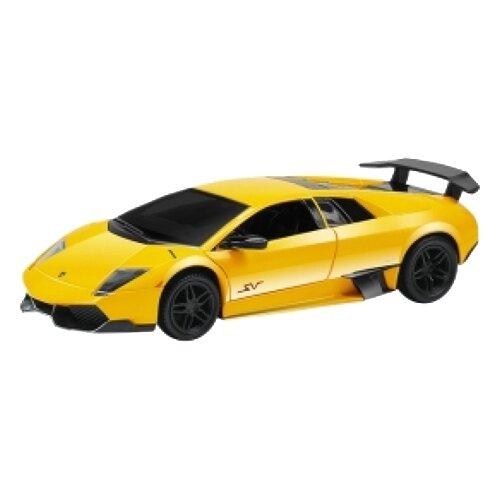 цена на Легковой автомобиль RMZ City Lamborghini Murcielago LP670-4 SV (344997) 1:64 желтый