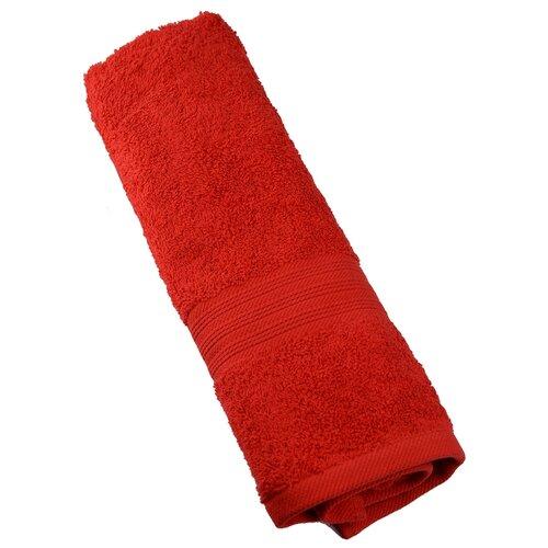 PROFFI Полотенце махровое для лица 50х90 см красное