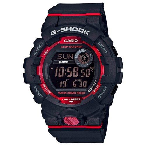 Часы CASIO G-SHOCK GBD-800-1E черный/красный casio часы casio gd 400 1e коллекция g shock