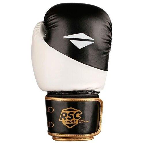 Боксерские перчатки RSC sport BF BX 012 белый/черный 14 ozБоксерские<br>